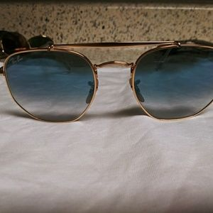 Ray-bans authentic with RB eched on lense